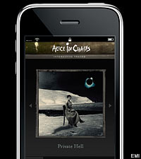 Alicein Chains iPhone