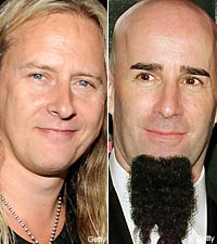 Jerry Cantrell and Scott Ian