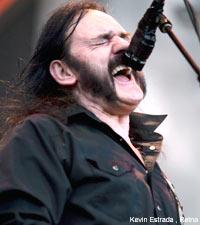 Motorhead frontman Lemmy Klimister