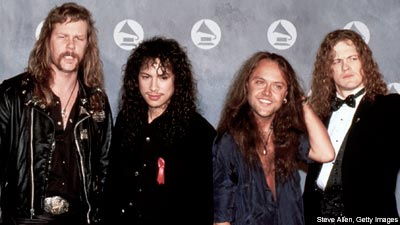 Metallica at the Grammys