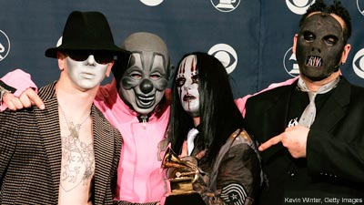 Slipknot at the Grammys
