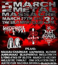 March Metal Massacre