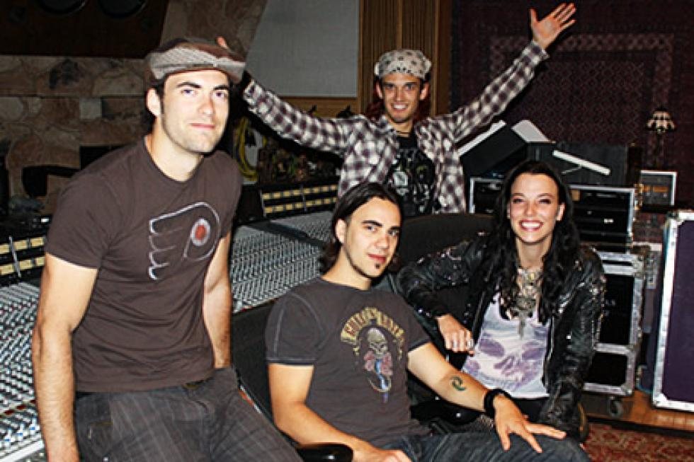 In the studio with halestorm exclusive interview m4hsunfo