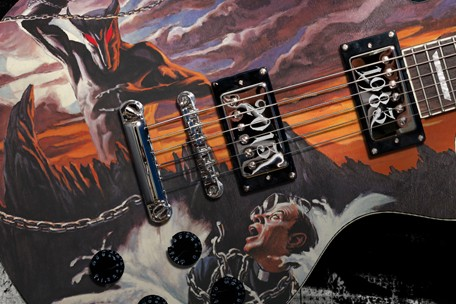 Ronnie James Dio 30th Anniversary 'Holy Diver' Guitar to Be Issued by ASG